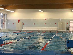 Nachwuchsschwimmer bei Talentsichtung Berliner Schwimm-Verband