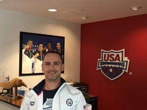 Alexander Steinhart bei USA Swimming