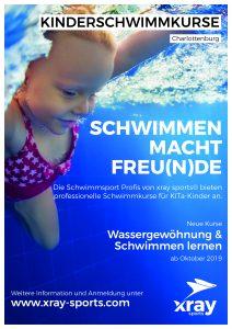 Kinder-Schwimmkurse 2019 in Berlin