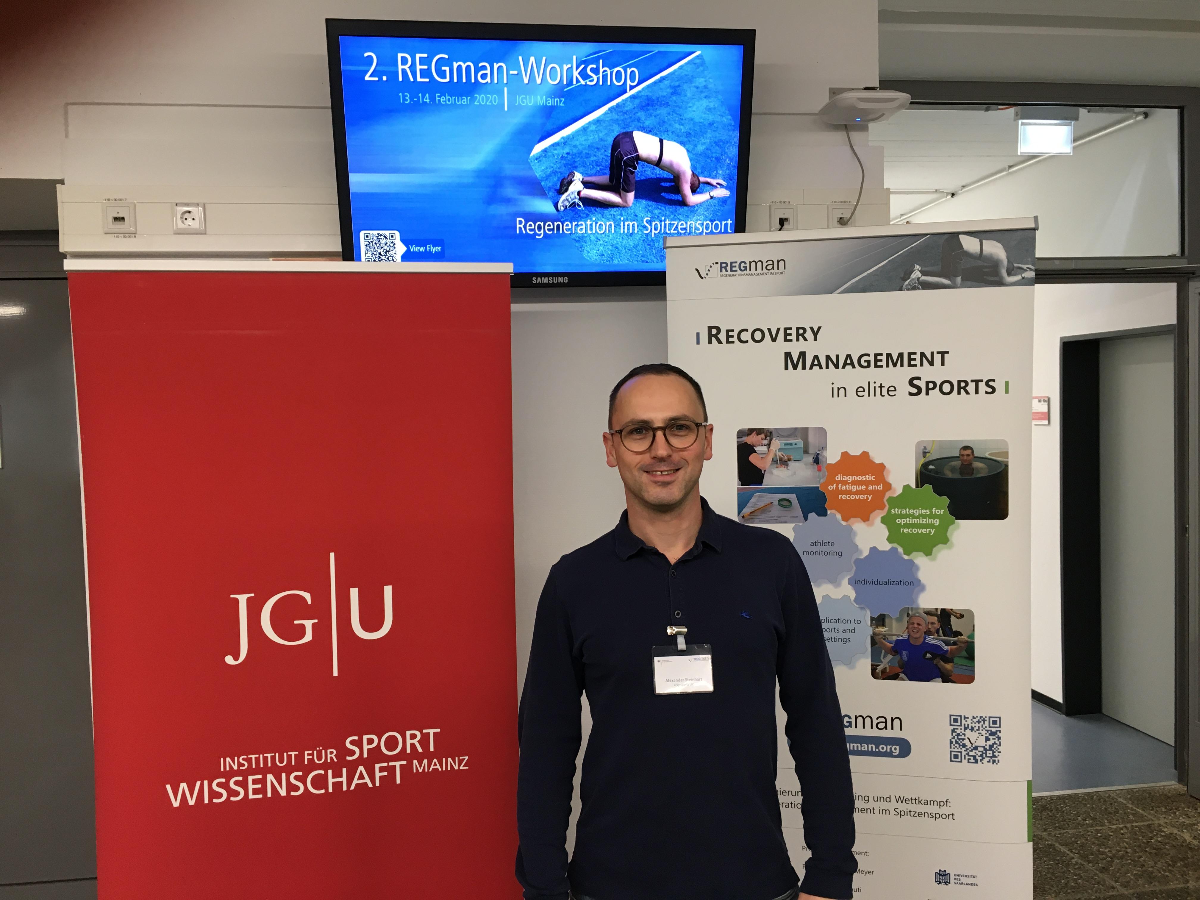 Schwimmtrainer Alexander Steinhart Fortbildung beim Bundesinstitut für Sportwissenschaft